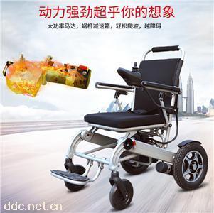 立善C500锂电池折叠高端电动轮椅