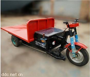 養殖場物料運輸車電動平板車純銅電機動力強勁
