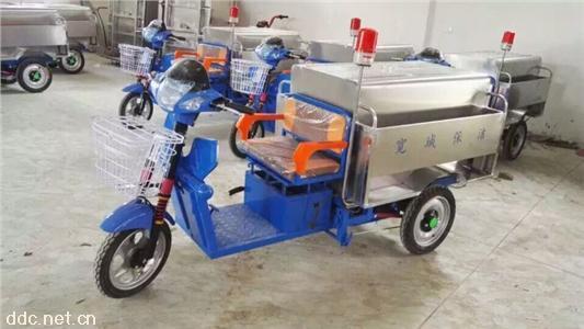 定制各种电动三轮垃圾车