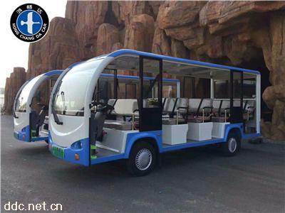 鸿畅达14座景区游览电动观光车