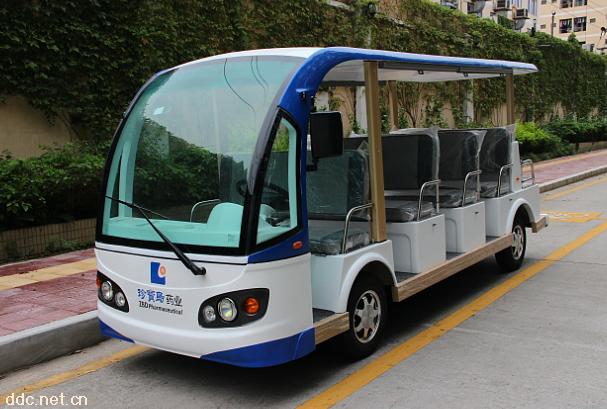 米森11座景区游览电动观光车