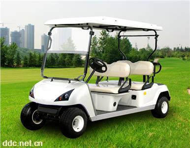 景点专用4座电动高尔夫球车