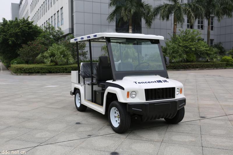 米森科技悍马款4座电动巡逻车