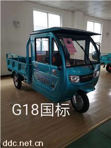 鑫金立G18國標電動半棚篷車
