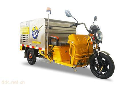金彭车载高压清洗车K11-II环卫专用车电动三轮专用车