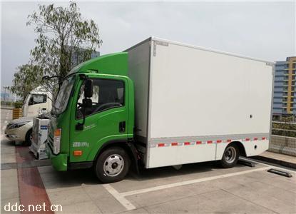 新能源电动箱式4米2货车