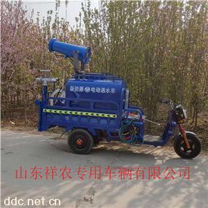 新能源电动三轮除尘雾炮喷洒车