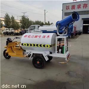 2方新能源电动雾炮洒水车