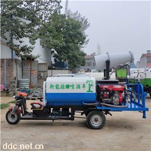 新能源电动工程环卫喷洒车