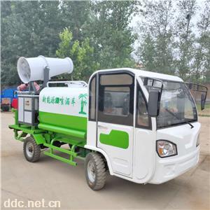 新能源多功能电动三轮降尘洒水车
