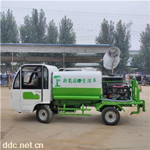 小型电动市政绿化环卫洒水车