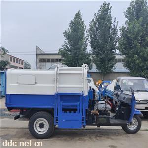 電動三輪掛桶自卸式垃圾車