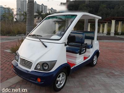 深圳2排3排电动巡逻车四轮