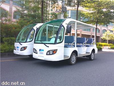 广东8-11座四轮电动观光车