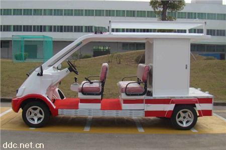 凯驰4座电动消防巡逻车
