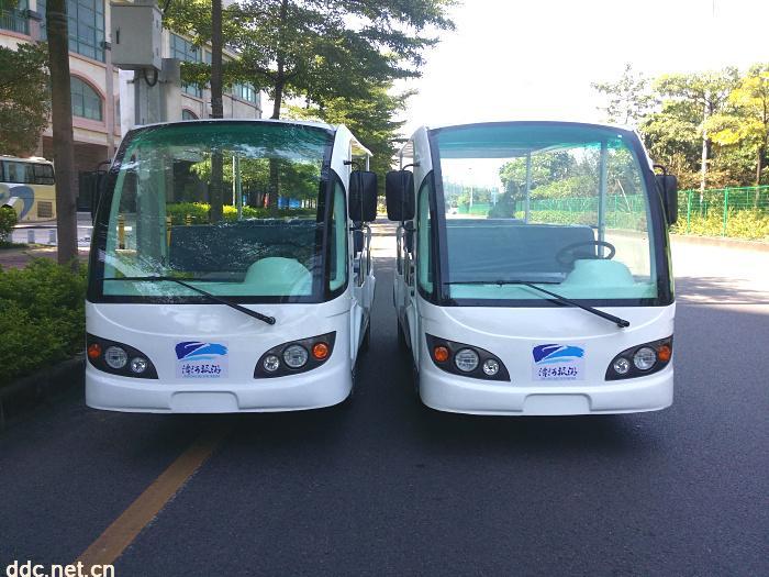 凯驰电动观光车72V5KW带遮阳帘
