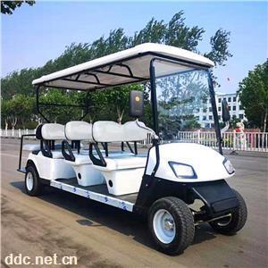 凯驰CAR-GF8八座白色休闲电动高尔夫球车