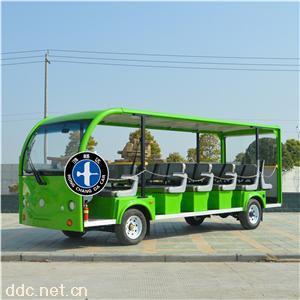 鸿畅达绿色电动观光车新款