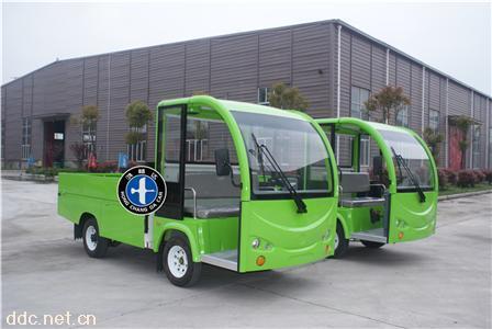 绿色鸿畅达电动观光车新款
