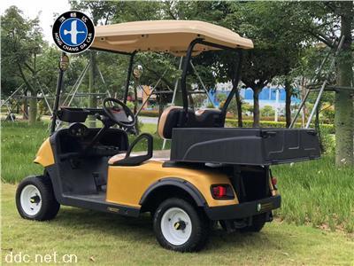电动高尔夫球车2座鸿畅达度假旅游四轮电动观光车