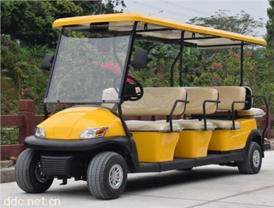 電動高爾夫球車11座高爾夫巡邏車廣東鴻暢達