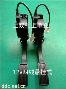 雷控新能源电动车加速器12V四线悬挂式