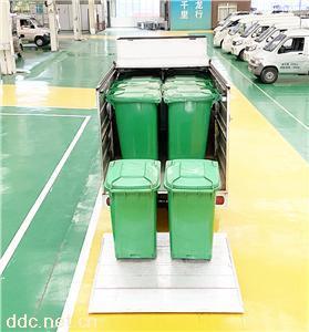 延龙牌纯电动密闭式桶装垃圾车