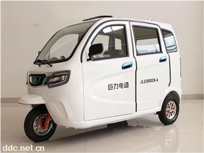 巨力新能源電動三輪車老年代步車全蓬車