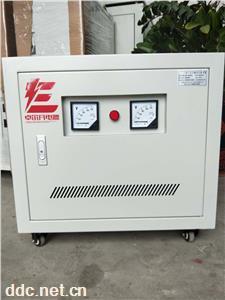 三相隔离变压器220v变380v
