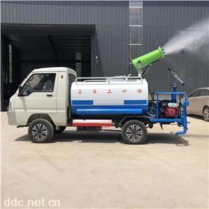 新能源电动洒水车小型多功能三轮雾炮洒水车