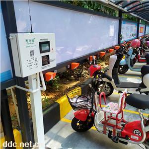 小区电动车充电桩智能充电站4G扫码电瓶车充电桩