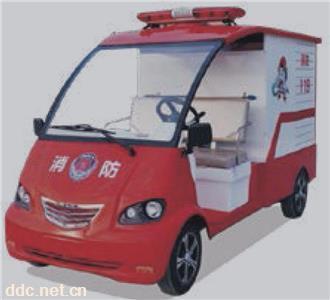 2 座纯电动消防车