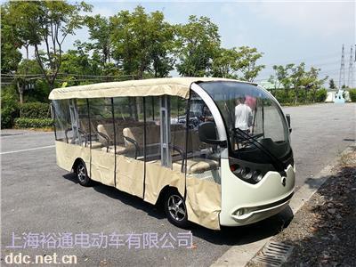 电动观光车雨帘四轮电动车雨罩游览观光车透明雨帘