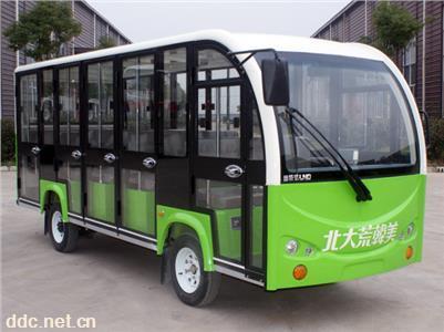 绿能达14座封闭观光车