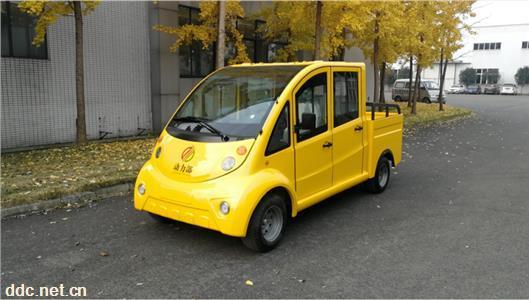 4座电动皮卡车