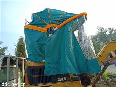 三轮车雨棚车篷挖机遮阳篷勾机遮阳棚随车吊雨棚
