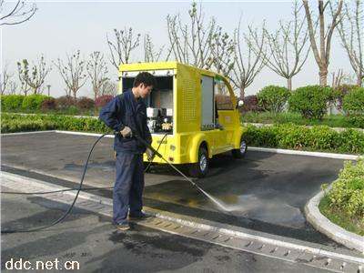 供应山东济南青岛聊城日照电动高压清洗车
