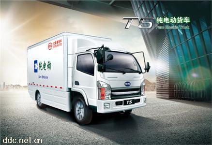 比亚迪T5箱式电动货车