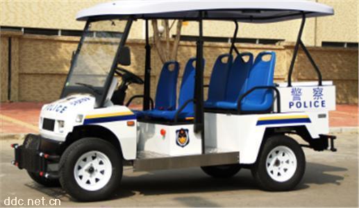 5座电动巡逻车四轮电瓶车保安物业用