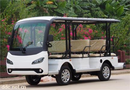 4排11座电动观光车电动游览车景区公园
