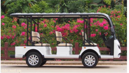 8座电动观光车保安物业公司用于巡逻车