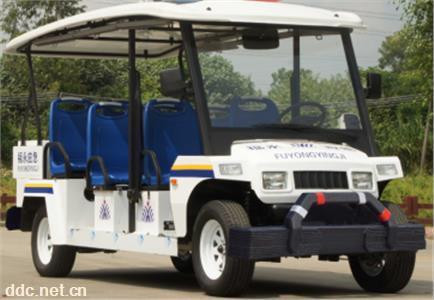 智能卡启动8座电动巡逻车四轮巡逻车