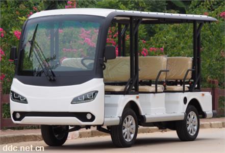 2021款8座电动观光车四轮电瓶游览车