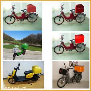 全球最新时尚中高档电动车用外送储物箱