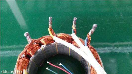 三轮电机焊接实物