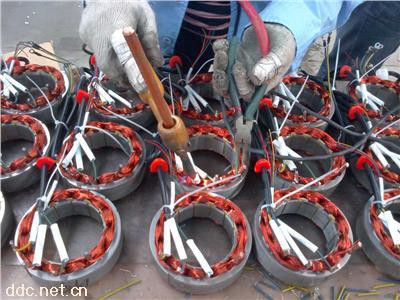 三轮车电机实物焊接JDTQ-3