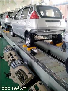 电动汽车装配生产流水线