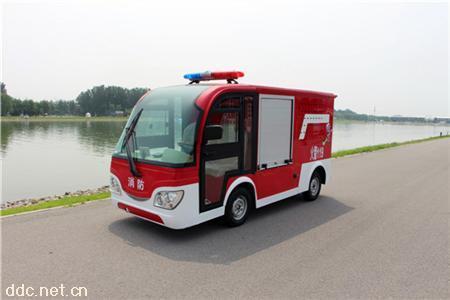 電動消防車-加門